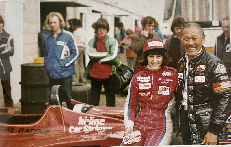 Teddy helped Desire Wilson enter into Formula 1. She became the only woman to win a Formula One race of any kind when she won at Brands Hatch in the short-lived British Aurora F1 Championship.