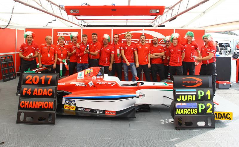 Prema Theodore Racing won the ADAC Formula 4 Team & Driver Champions with Juri Vips and the Italian Formula 4 Driver Champions with Marcus Armstrong