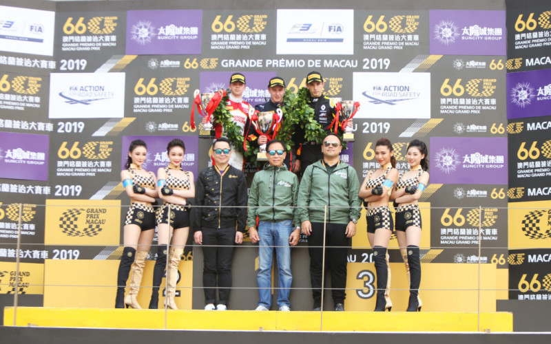 Robert Shwartzman takes second-place finish in Macau qualification race for SJM Prema Theodore Racing